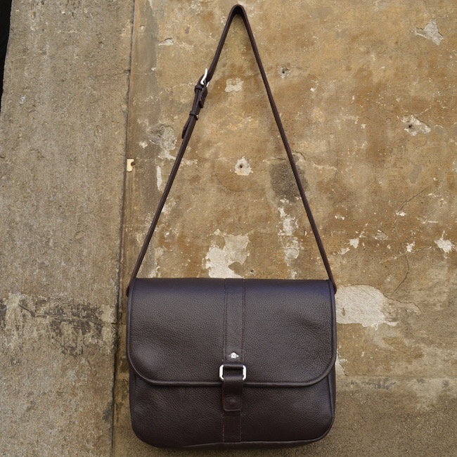 La Postina Named For Its Resemblance To The Leather Bags Worn In Past By Italian Mail Curriers Is A Ious And Versatile Bag That 100 Handmade