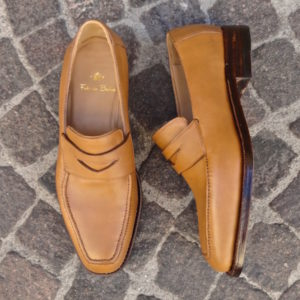Tan Roma Loafer