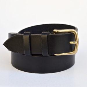 Black Casual Belt, 3cm